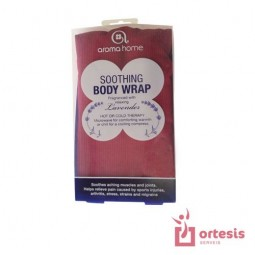 Soothing Body Wrap Burgundy