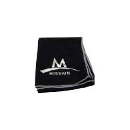 Endurance large towel Microfibre Black